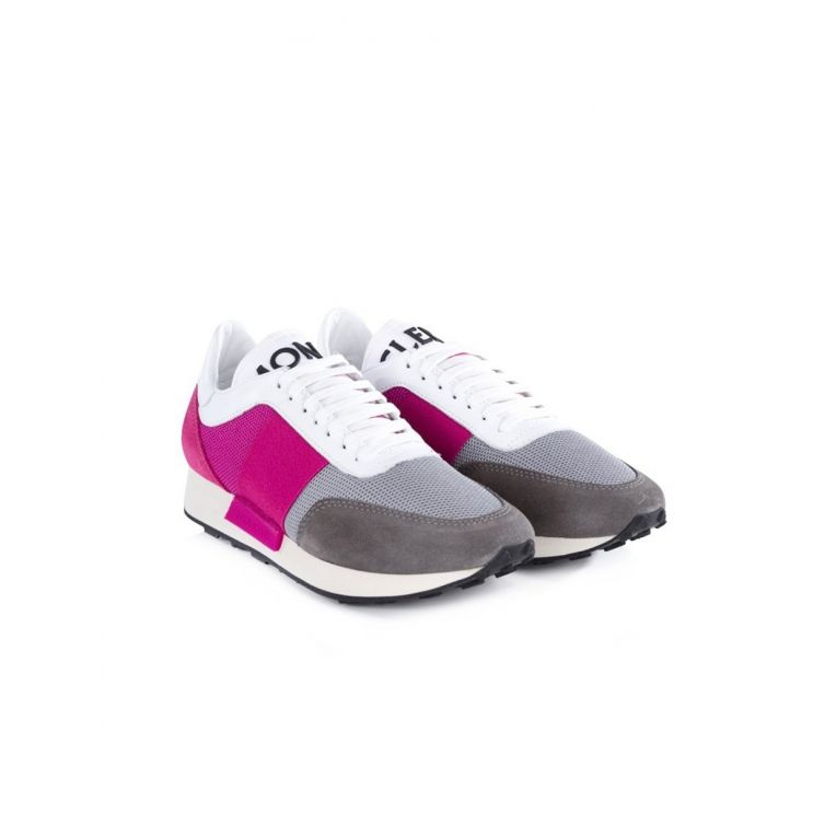 Moncler Pink Louise Trainers