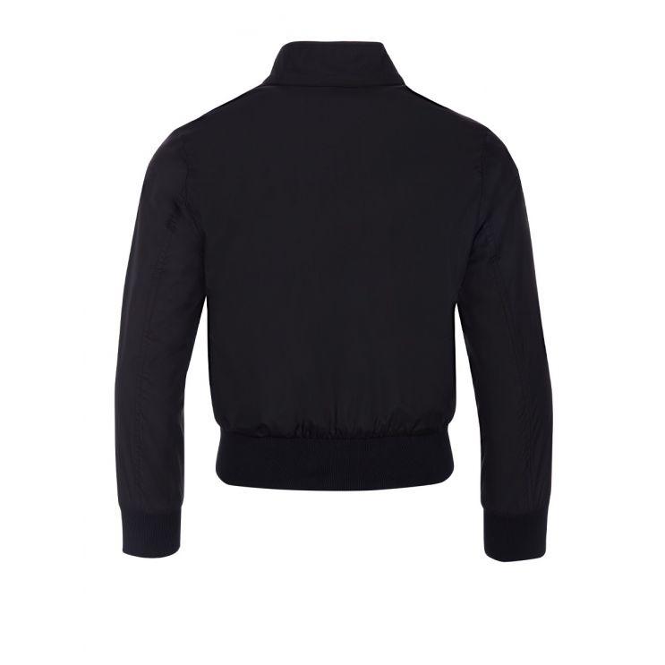 Moncler Enfant Black Fabrice Padded Jacket
