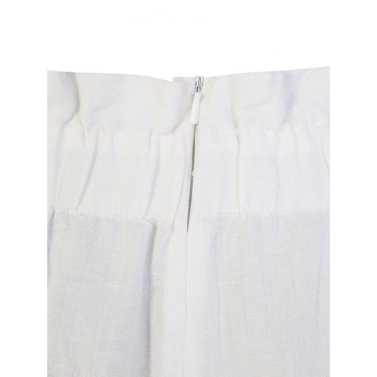 Bec + Bridge White Olivia Shorts
