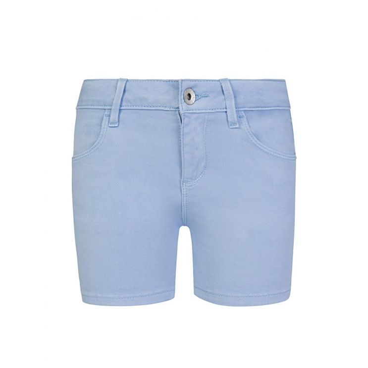 GUESS Kids Blue Cotton Turn Up Shorts