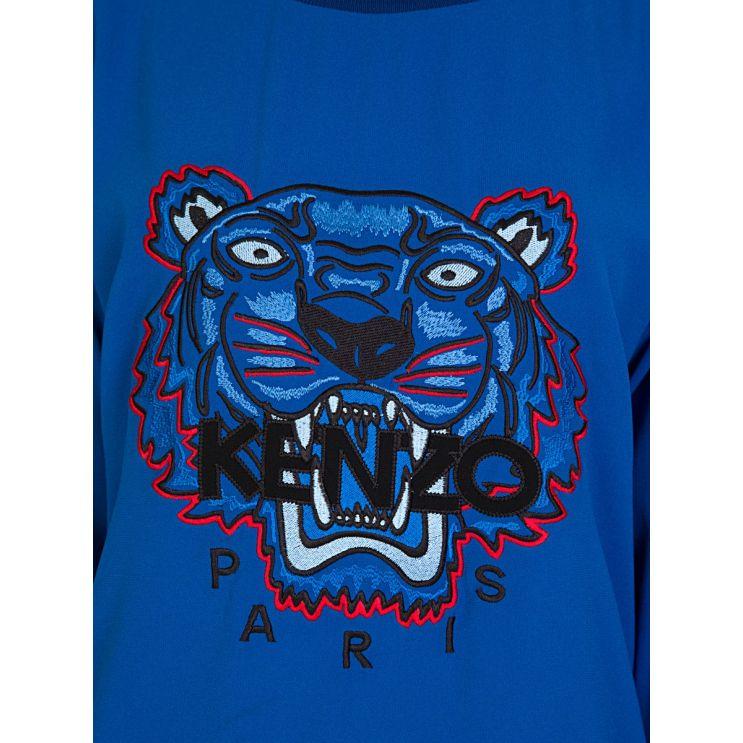 KENZO Royal Blue Tiger Jumper