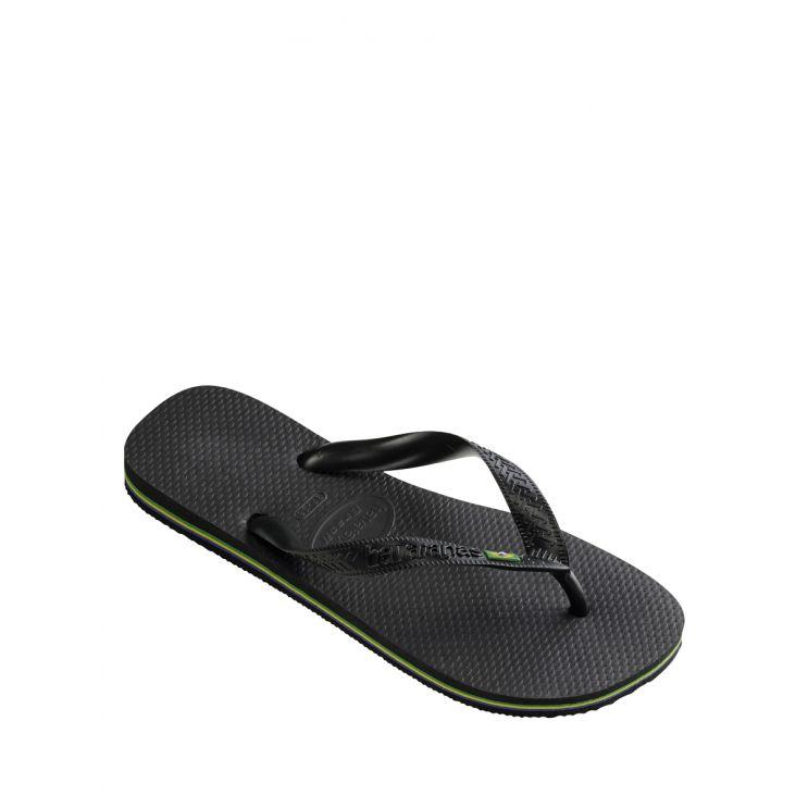Havaianas Signature Black Brazil Flip-Flops