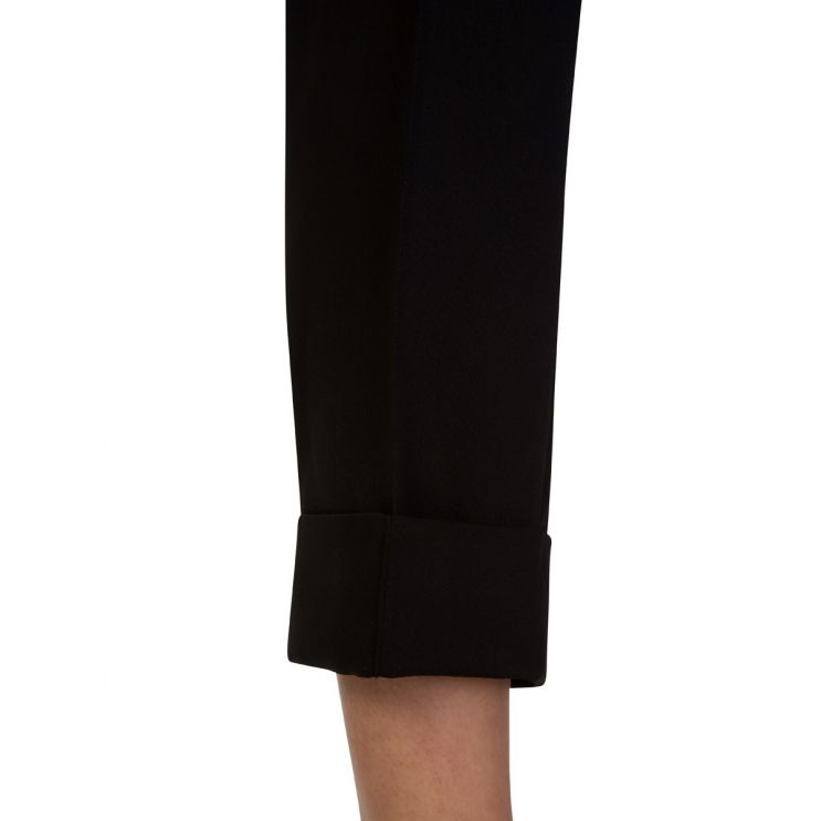 KENZO Black Tailored Pleated Trousers