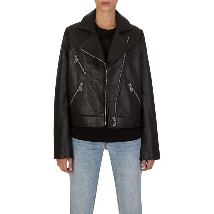 Bec + Bridge Black C'Est Leather Jacket