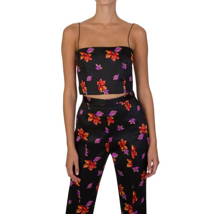 Bec + Bridge Floral Love Crush Crop Top