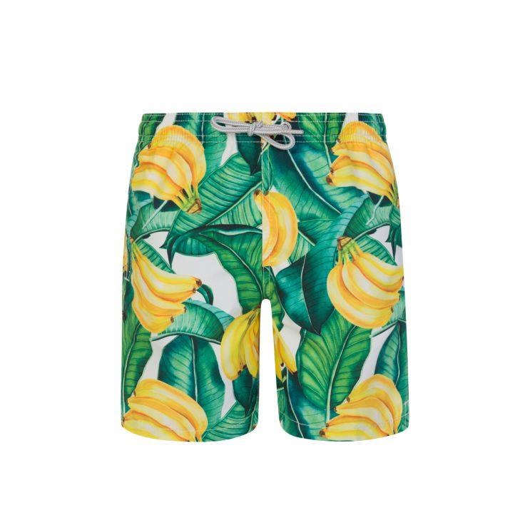 MC2 Saint Barth Junior Yellow Banana Swim Shorts