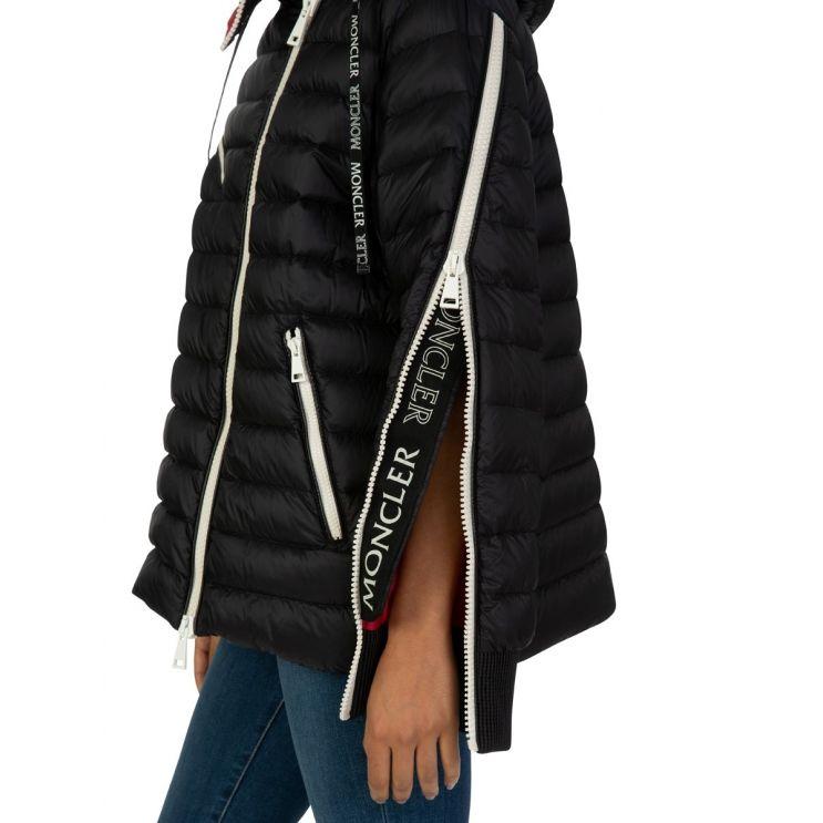 Moncler Black Hooded Stockholm Puffer Jacket