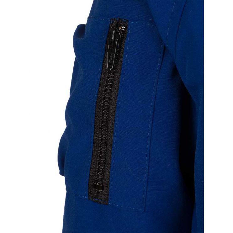 Canada Goose Kids Blue Rundle Bomber Jacket