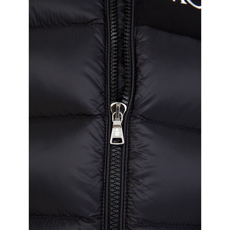 Moncler Enfant Black Aiton Puffer Jacket