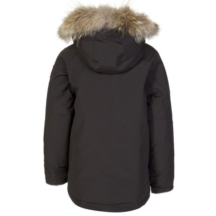 Canada Goose Kids Graphite Logan Parka Jacket