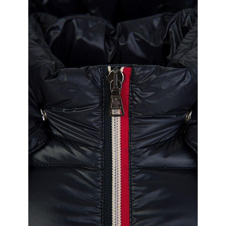 Moncler Enfant Navy 'Gastonet' Hooded Jacket