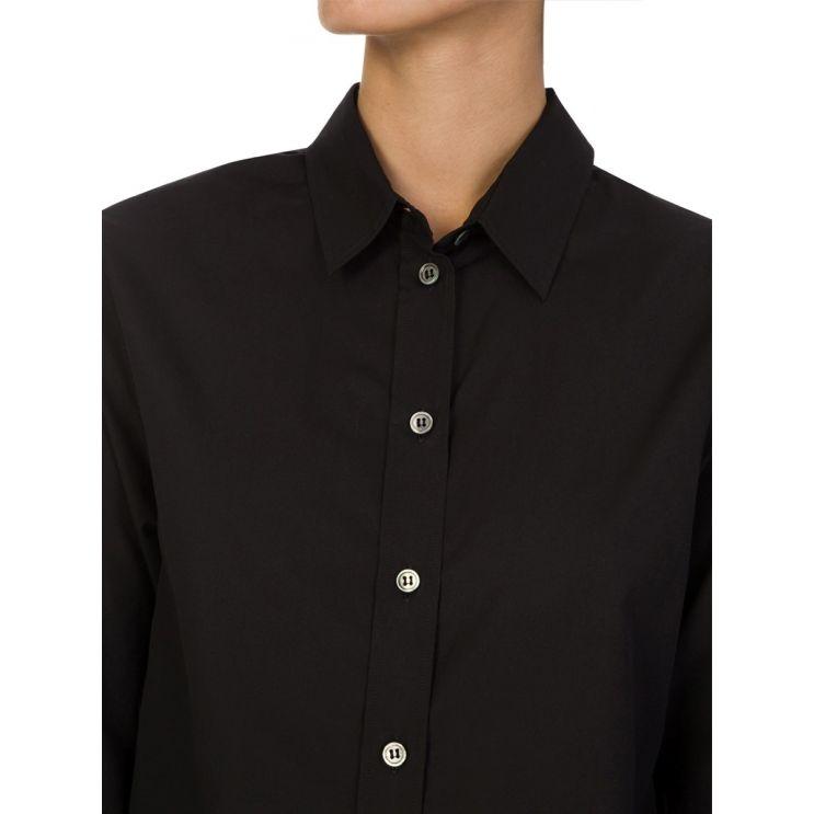 Joseph Joe Black Poplin Shirt