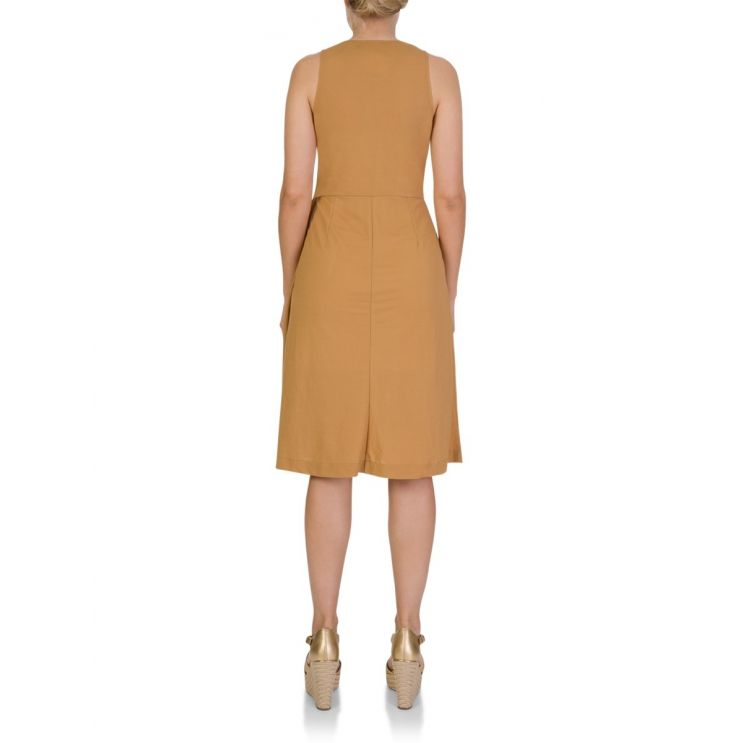 Patrizia Pepe Beige Midi Dress