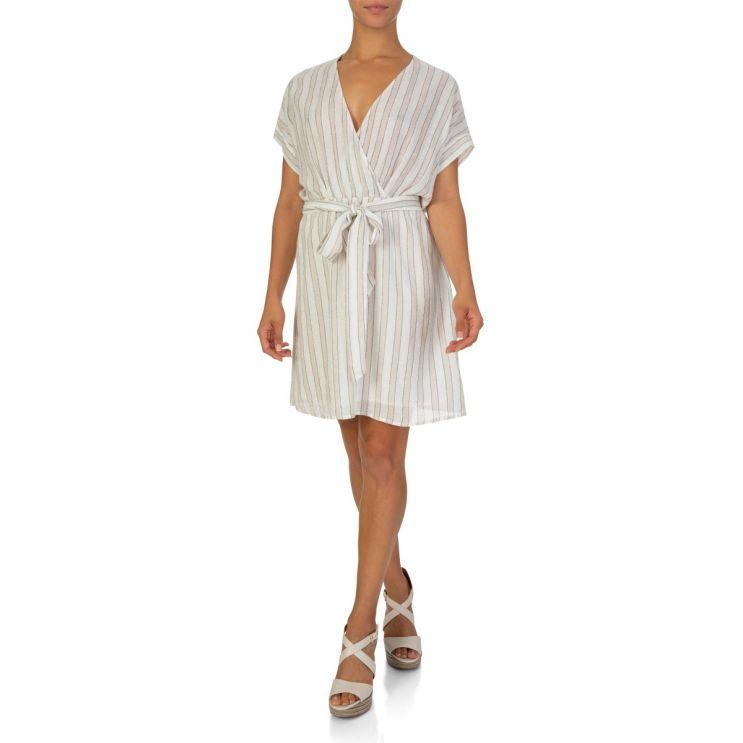 Rails White Tie Waist Dress