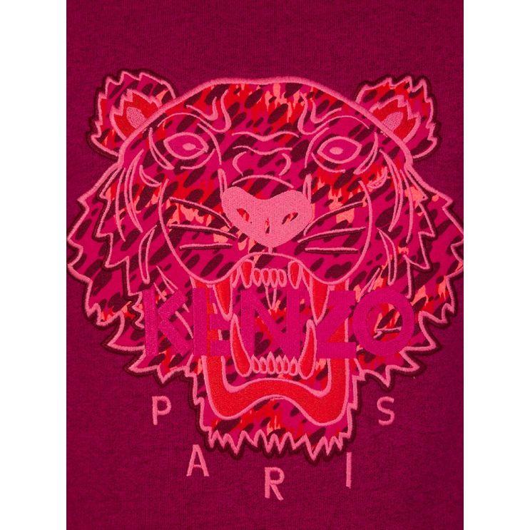 KENZO Kids Pink Arine Tiger Sweatshirt