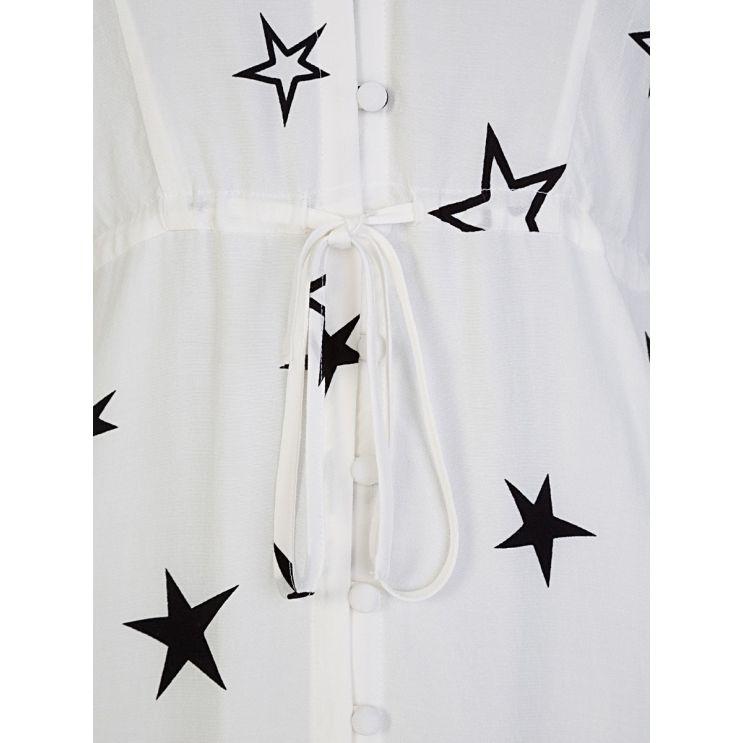 Rails White Frida Stellar Midi-Length Dress