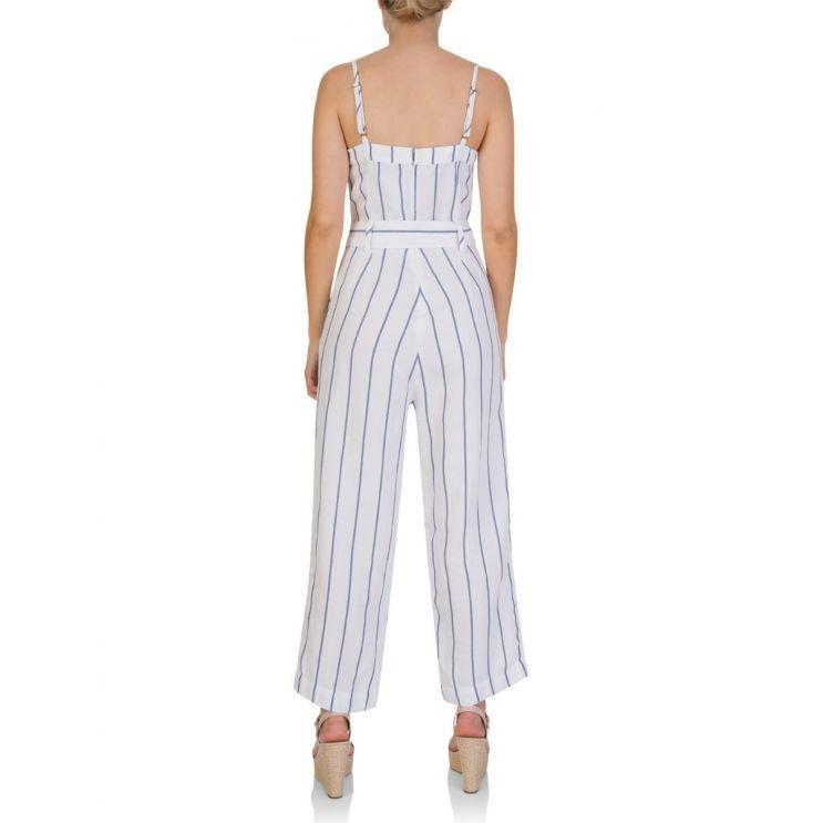Rails White Harper Prato Stripe Jumpsuit