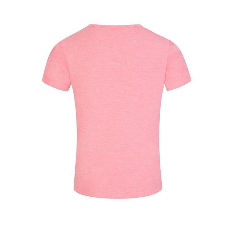 KENZO Kids Pink Sports Line Logo T-Shirt