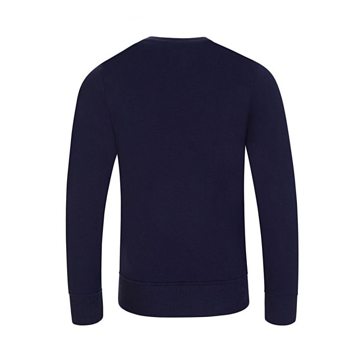 Moschino Kids Navy Moschino Bears Logo Print Sweatshirt