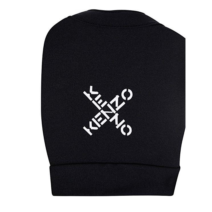 KENZO Black Sports Crop Top