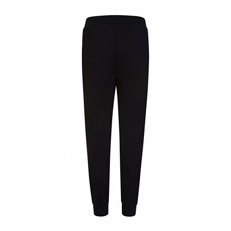 Versace Black Junior Glitter Logo Sweatpants