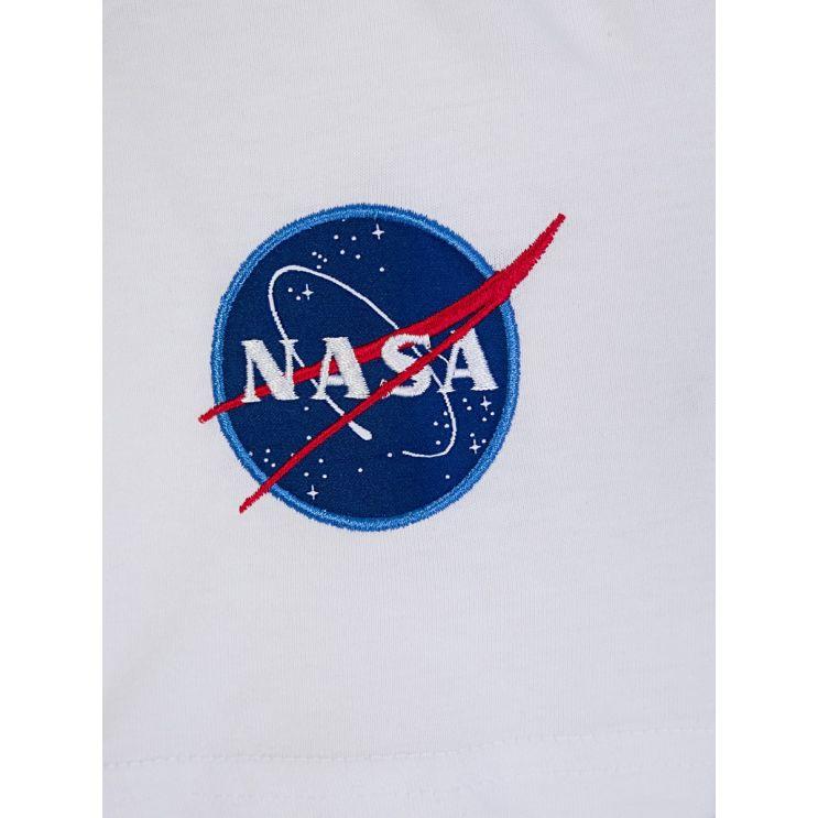 Alpha Industries Kids White NASA T-Shirt