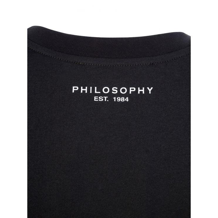 Philosophy Di Lorenzo Serafini Black T-Shirt