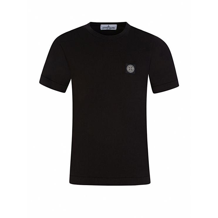 Stone Island Junior Black T-Shirt