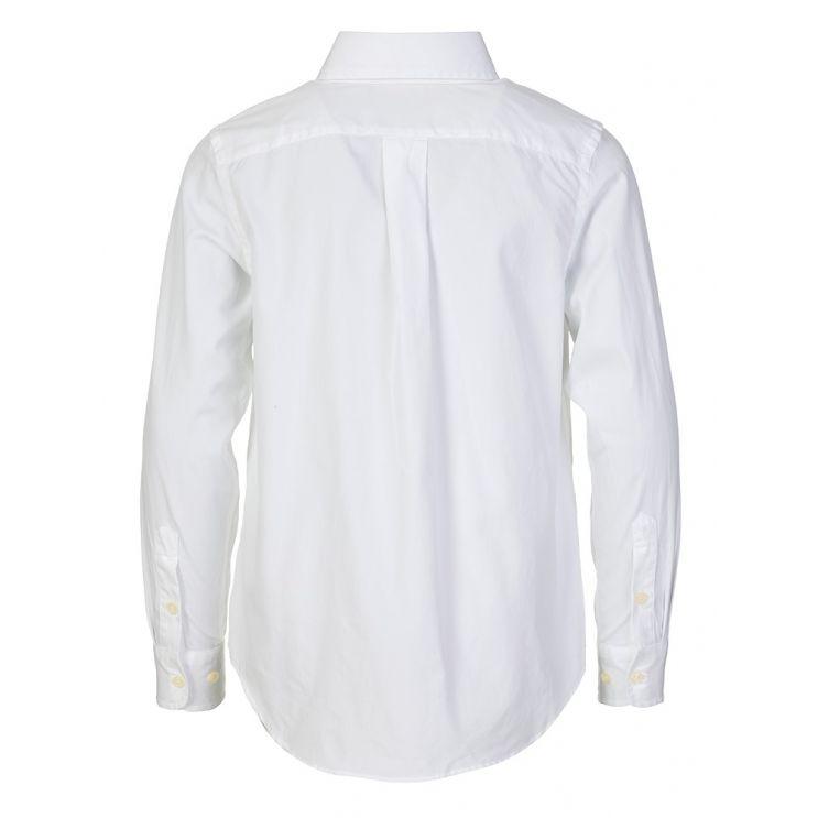 Polo Ralph Lauren Kids White Custom Fit Shirt