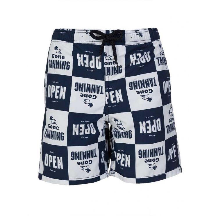 Vilebrequin Junior Navy Gone Tanning Swim Shorts