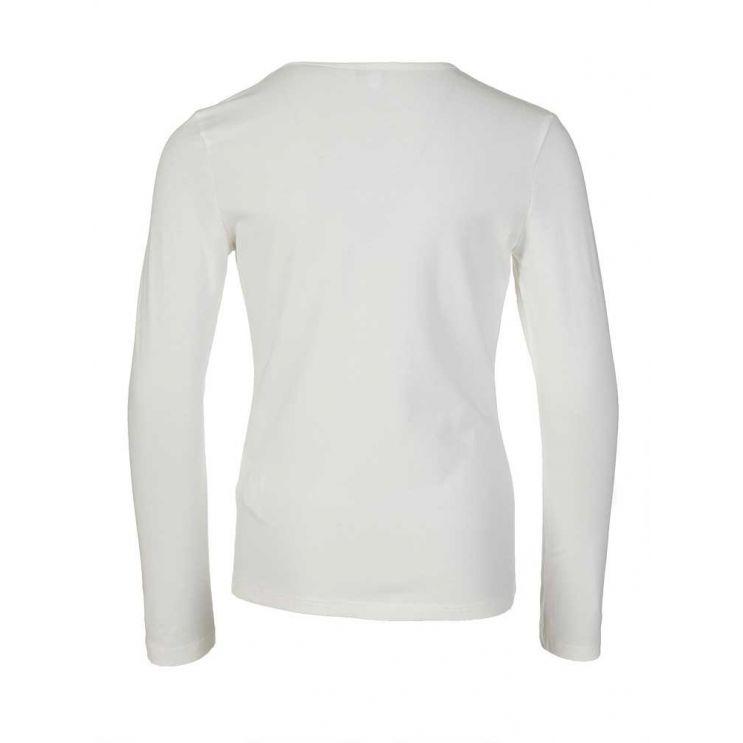 KENZO Kids Cream Long Sleeved Tiger T-Shirt