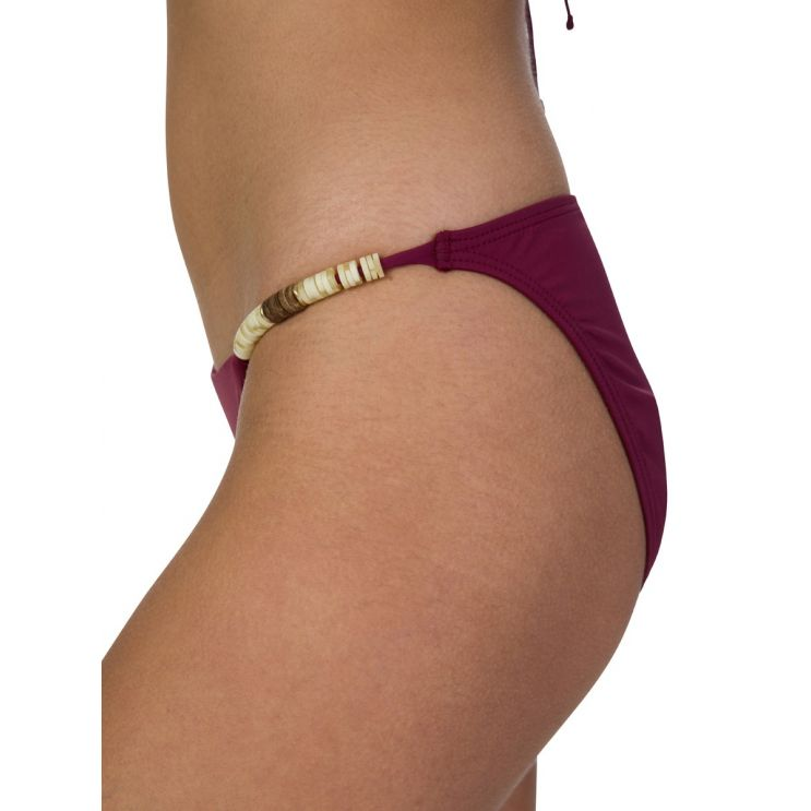 VIX Paula Hermanny Burgundy Bondi Bikini Bottoms