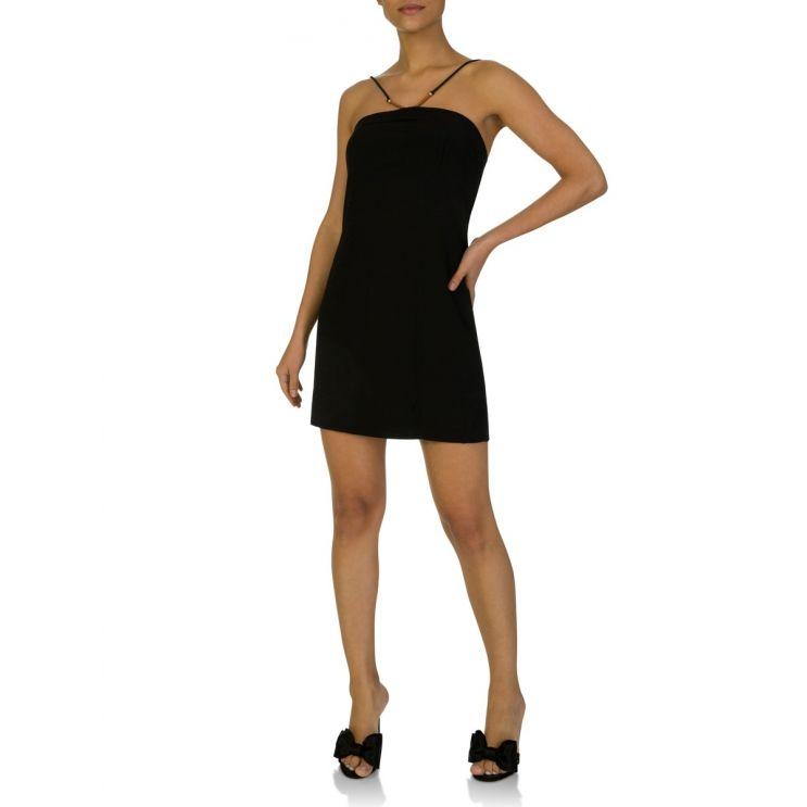 VIX Paula Hermanny Short Black Dress