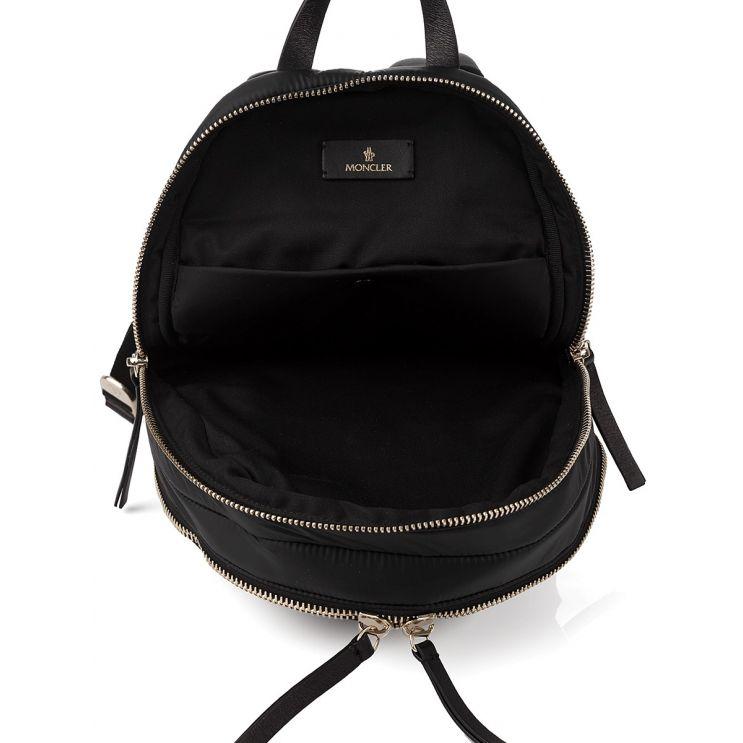 Moncler Black Kilia Medium Rucksack