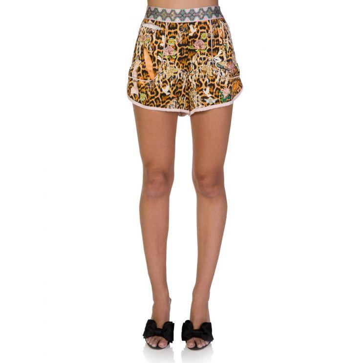 Camilla Brown Fauna Electro Shorts