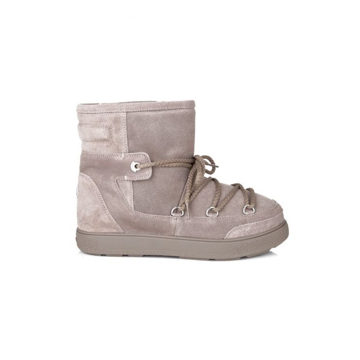 Moncler Beige New Fanny  Moon Boots