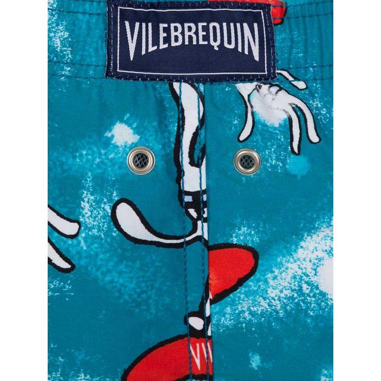Vilebrequin Junior Blue Snowboard Bunny Swim Shorts