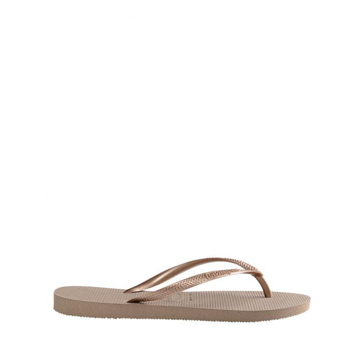 Havaianas Rose Gold Slim Flip-Flops