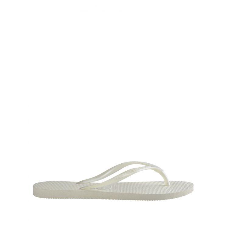 Havaianas White Slim Flip-Flops