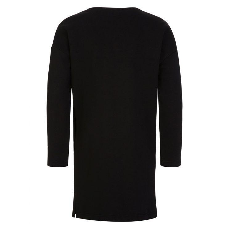 KENZO Kids Black Tiger Sweatshirt Dress