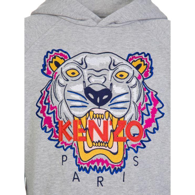 KENZO Kids Grey Sweatshirt
