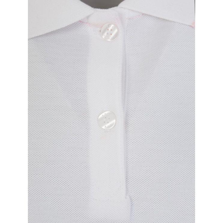KENZO Kids White Polo Shirt Dress