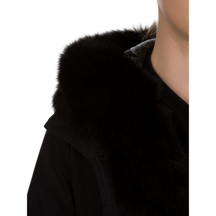 Moncler Black Hypolais Parka Coat