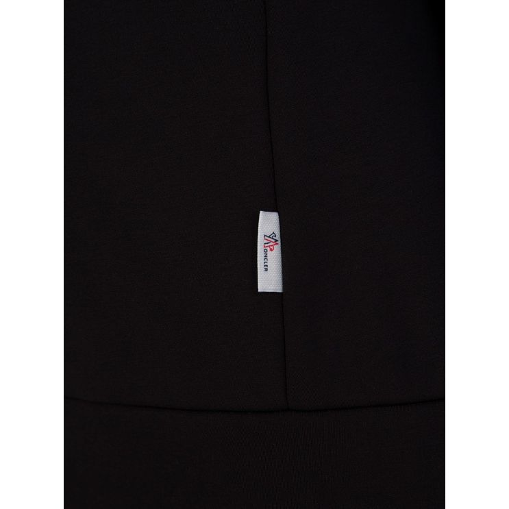 Moncler Grenoble Black Logo Hoodie
