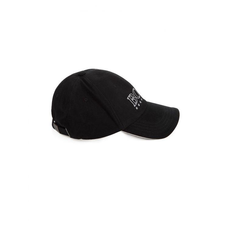 BOSS Kidswear Black Logo Cap