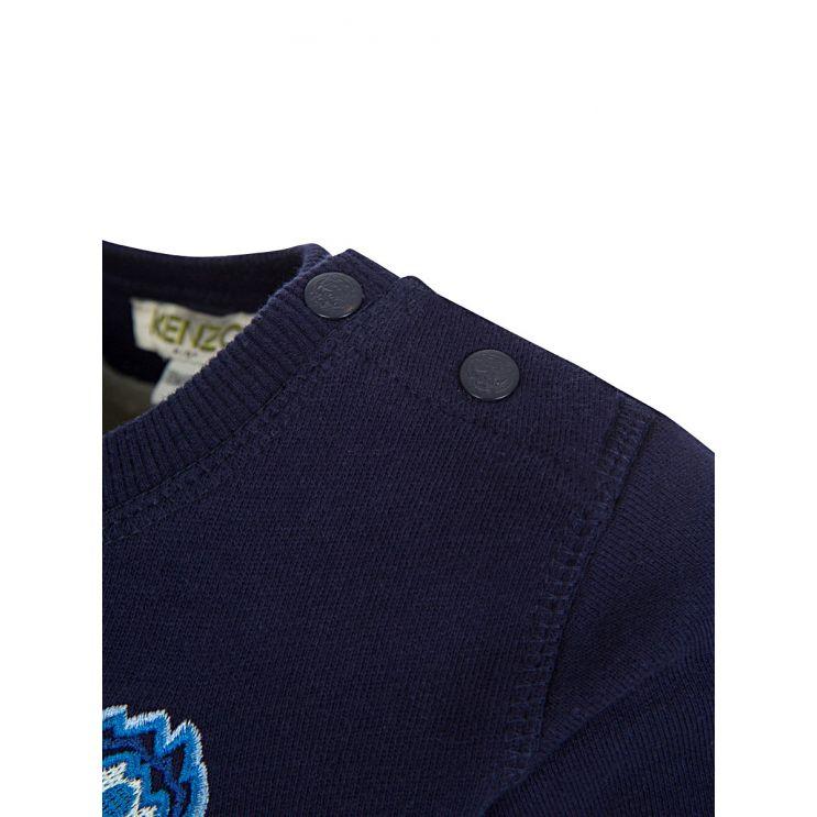 Baby KENZO Kids Navy Tiger Head Sweatshirt