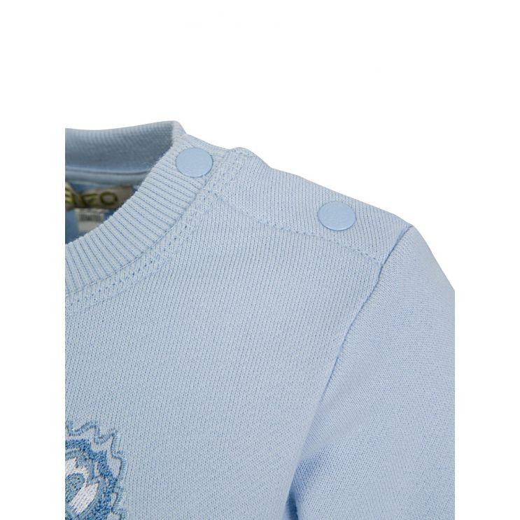 Baby KENZO Kids Blue Tiger Sweatshirt
