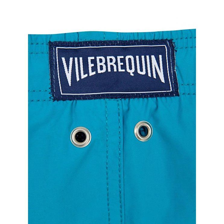 Vilebrequin Junior Turquoise Seychelles Water-Reactive Swim Shorts