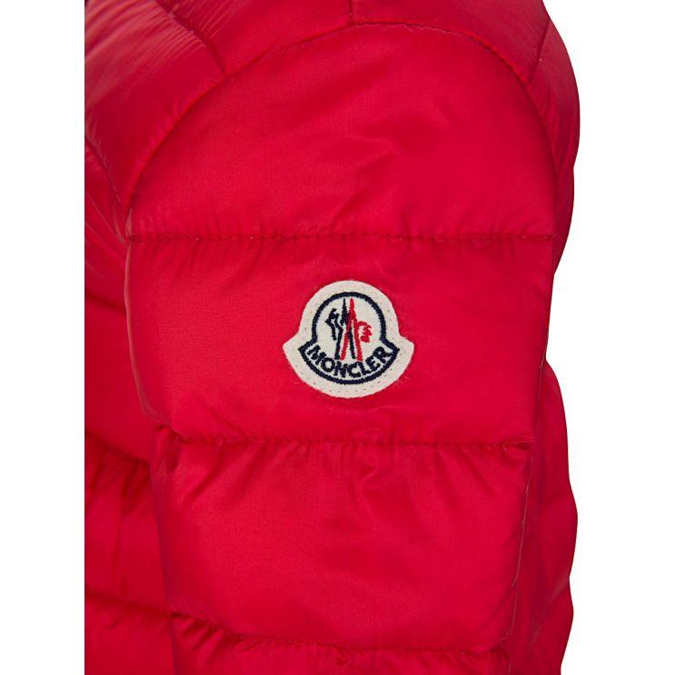 Moncler Enfant Red Down Filled Puffer Jacket