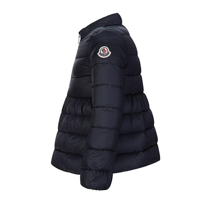 Moncler Enfant Navy Down Filled Puffer Jacket